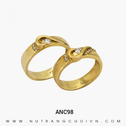 Nhẫn Cưới Vàng ANC98