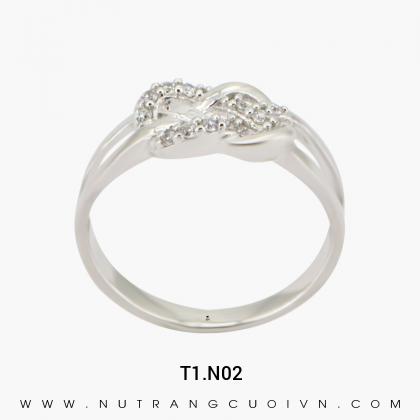 Nhẫn Kiểu Nữ T1.N02