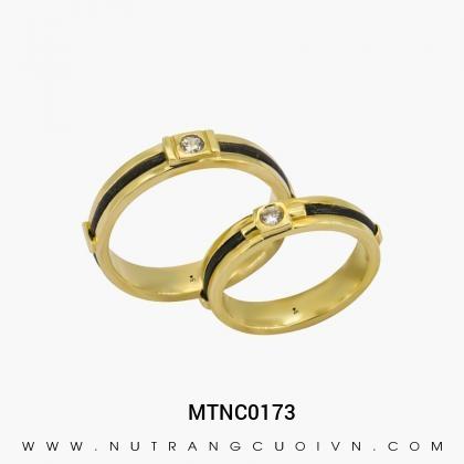 Nhẫn Cưới Vàng MTNC0173
