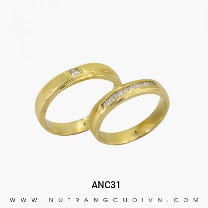 Nhẫn Cưới Vàng ANC31