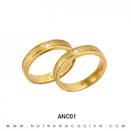 Nhẫn Cưới Vàng ANC01
