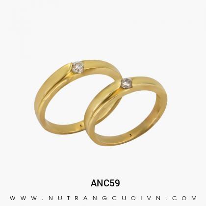 Nhẫn Cưới Vàng ANC59