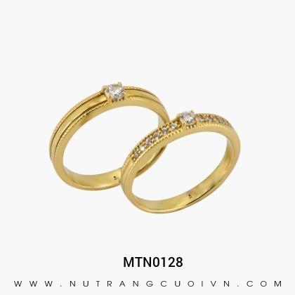 Nhẫn Cưới Vàng MTN0128