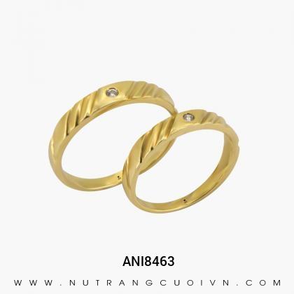 Nhẫn Cưới Vàng ANl8463