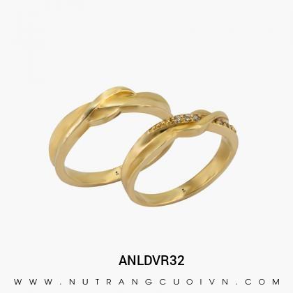 Nhẫn Cưới Vàng ANLDVR32