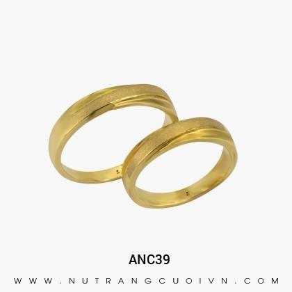 Nhẫn Cưới Vàng ANC39