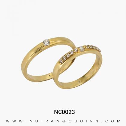 Nhẫn Cưới Vàng NC0023