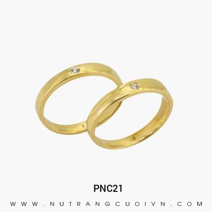Nhẫn Cưới Vàng PNC21