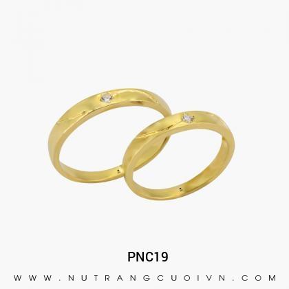 Nhẫn Cưới Vàng PNC19