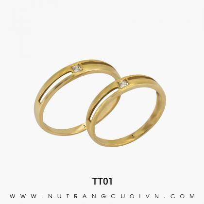 Nhẫn Cưới Vàng TT01