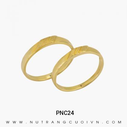 Nhẫn Cưới Vàng PNC24