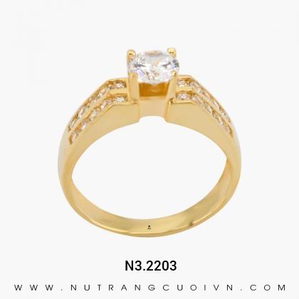 Nhẫn Kiểu Nữ N3.2203