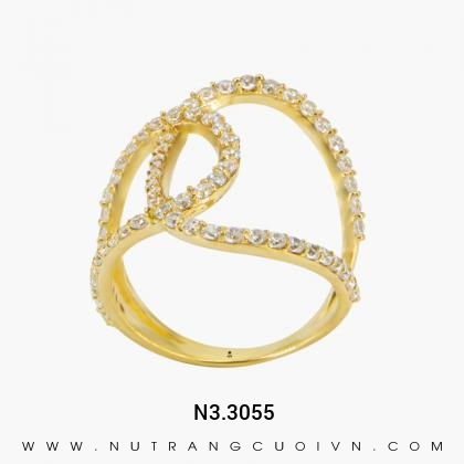 Nhẫn Kiểu Nữ N3.3055