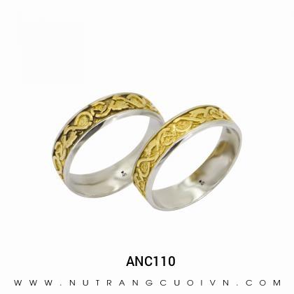Nhẫn Cưới Hai Màu ANC110