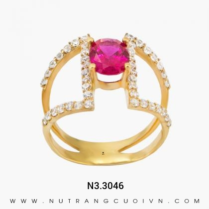 Nhẫn Kiểu Nữ N3.3046