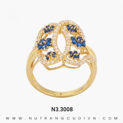 Nhẫn Kiểu Nữ N3.3008