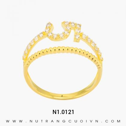 Nhẫn Kiểu Nữ N1.0121