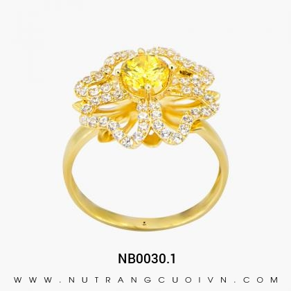 Nhẫn Kiểu Nữ NB0030.1