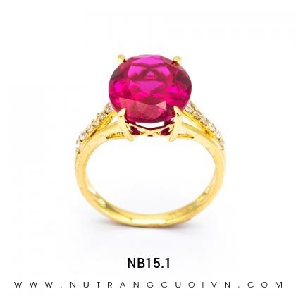 Nhẫn Kiểu Nữ NB15.1