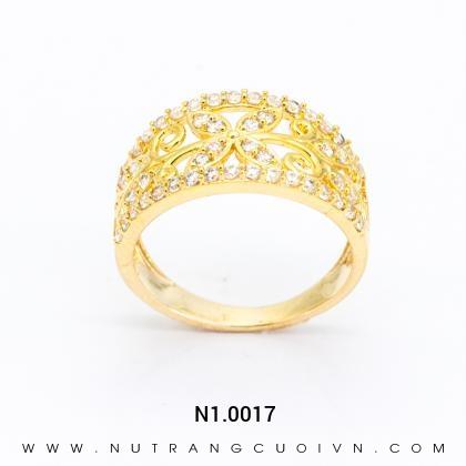 Nhẫn nữ đẹp N10017
