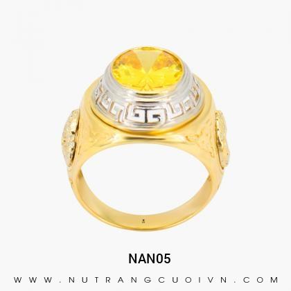 Nhẫn nam đẹp NAN05