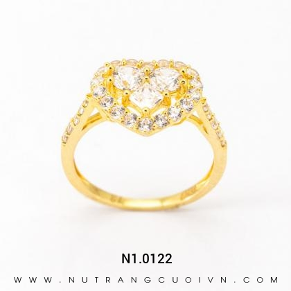 Nhẫn Kiểu Nữ N1.0122
