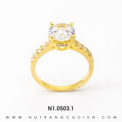 Nhẫn kiểu Nữ N1.0503.1
