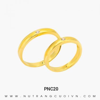 Nhẫn Cưới Vàng PNC20