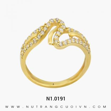 Nhẫn Kiểu Nữ N1.0191