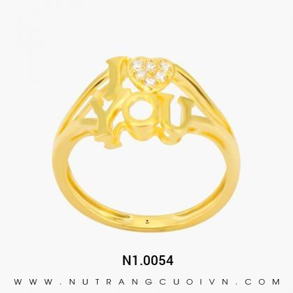 Nhẫn Kiểu Nữ N1.0054