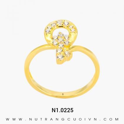 Nhẫn Kiểu Nữ N1.0225