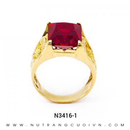 Nhẫn Nam N3416-1