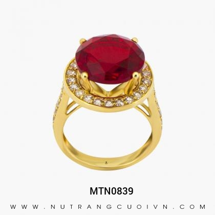 Nhẫn Kiểu Nữ MTN0839