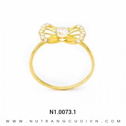 Nhẫn Kiểu Nữ N1.0073.1