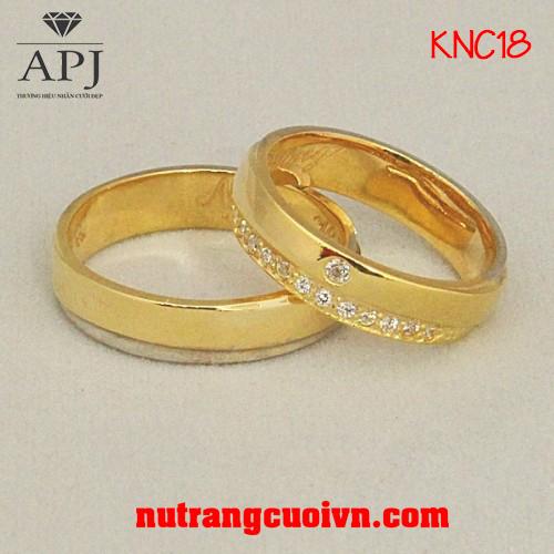 nhẫn cưới đơn giản