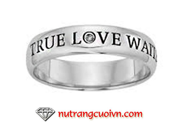 Nhẫn trinh tiết, purity rings, true love will waits ring