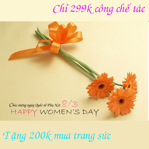 Happy Womans Day 8 - 03 Ưu Đãi Lớn