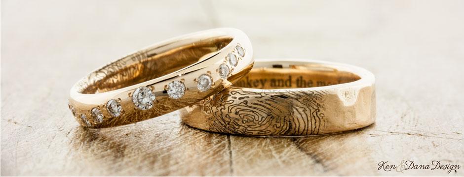 Bài chia sẻ: Tại sao 2 chiếc nhẫn cưới lại khác nhau ??