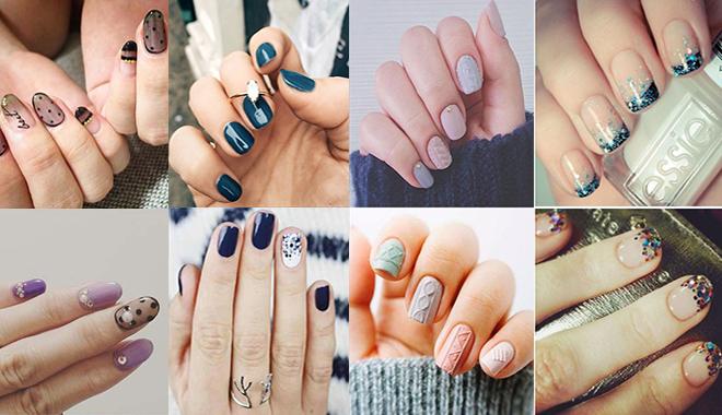 5 kiểu móng tay cô dâu cực đẹp cho mùa đông