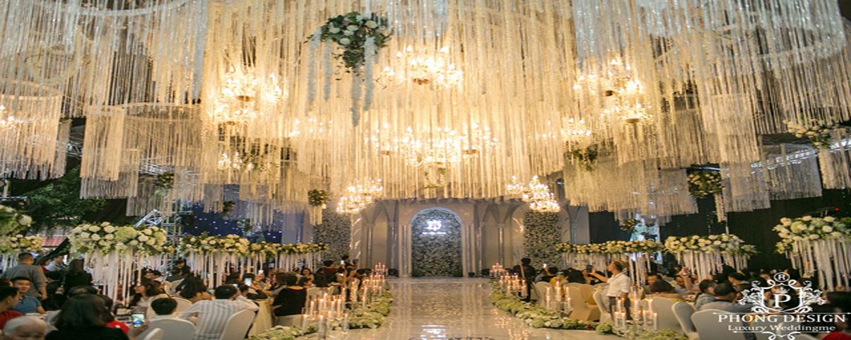 Đám cưới thiết kế siêu hoành tráng tại Quảng Ninh của nhà thiết kế Phong Design