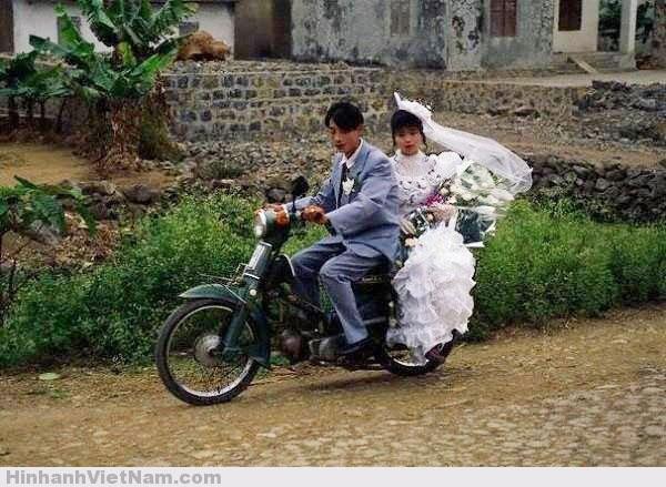 Sự khác biệt giữa đám cưới ngày xưa và nay