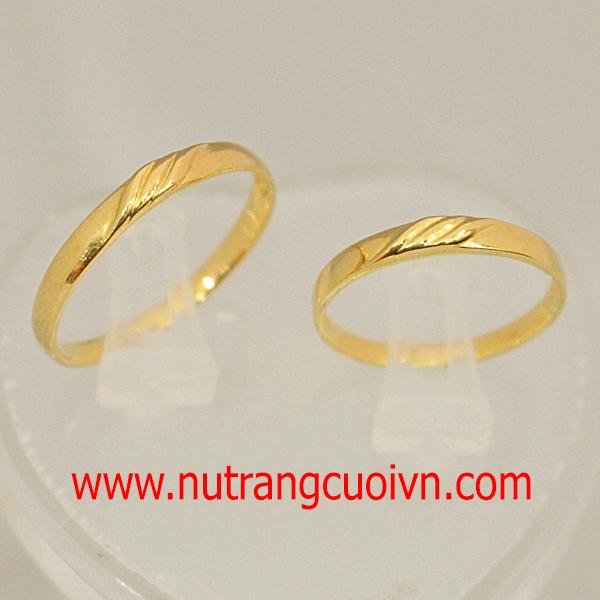 3 kiểu nhẫn cưới vàng đáng tham khảo cho ngày cưới