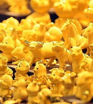 Doanh số bán lẻ Mỹ đẩy giá vàng đi lên