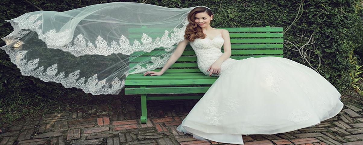 Hồ Ngọc Hà biến hoá với áo cưới