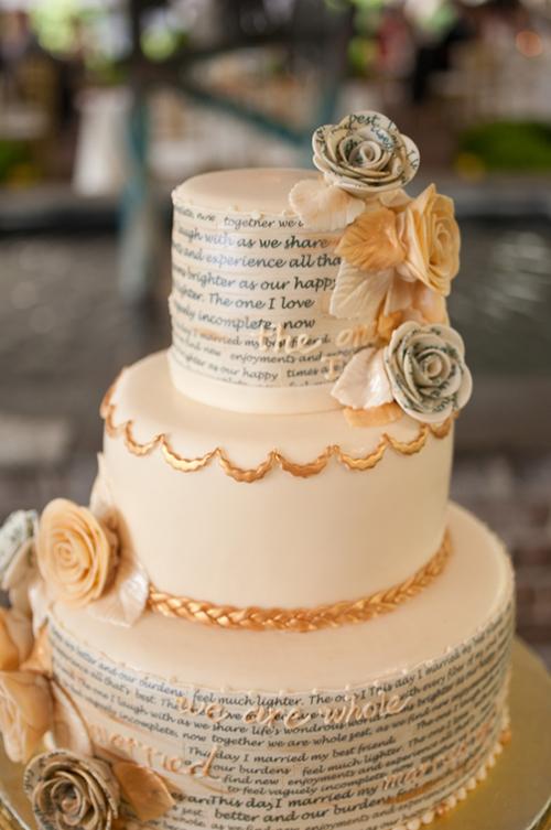 Các kiểu bánh cưới độc đáo cho ngày cưới trọng đại