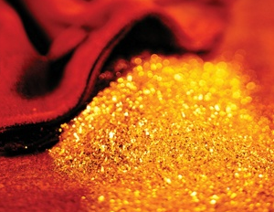 Giá vàng giảm từ đỉnh 3 tuần