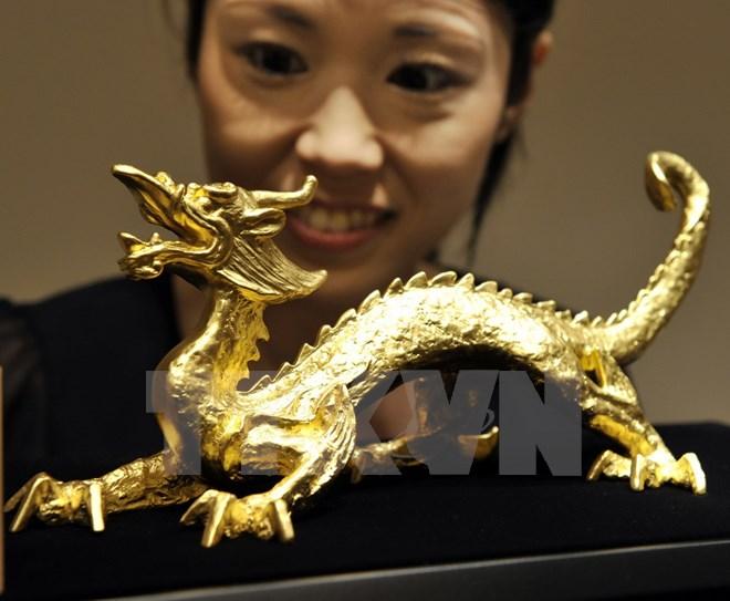 Vàng trong nước hạ giá 35,3 triệu đồng một lượng