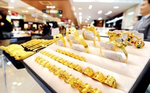 Giá vàng có dấu hiệu giảm