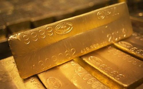 Đồng USD giảm nhẹ, vàng tăng lên trên 1160/oz