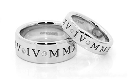 Khắc laser nội dung gì lên nhẫn cưới